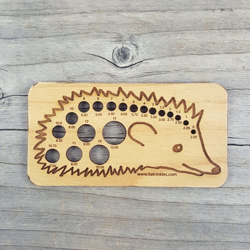 Animal Needle Gauge - Hedgehog