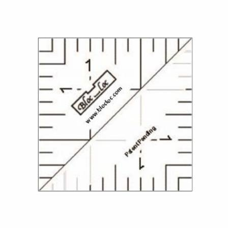 Bloc Loc Half Square Triangle Ruler - 1.5