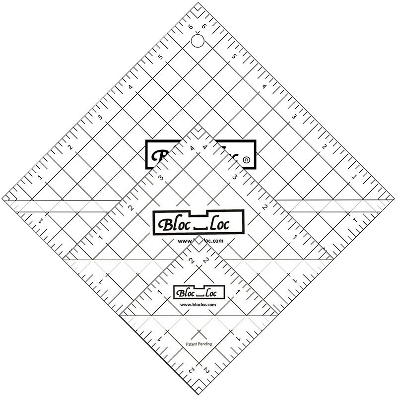 Bloc Loc Half Square Triangle Ruler Set 2