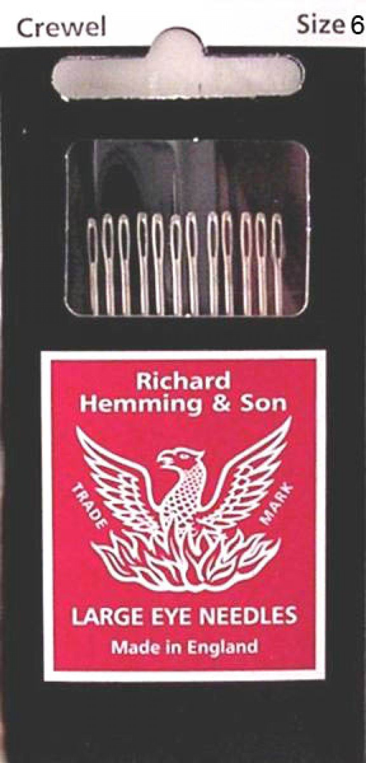 R.H. Embroidery Needle - Size 6