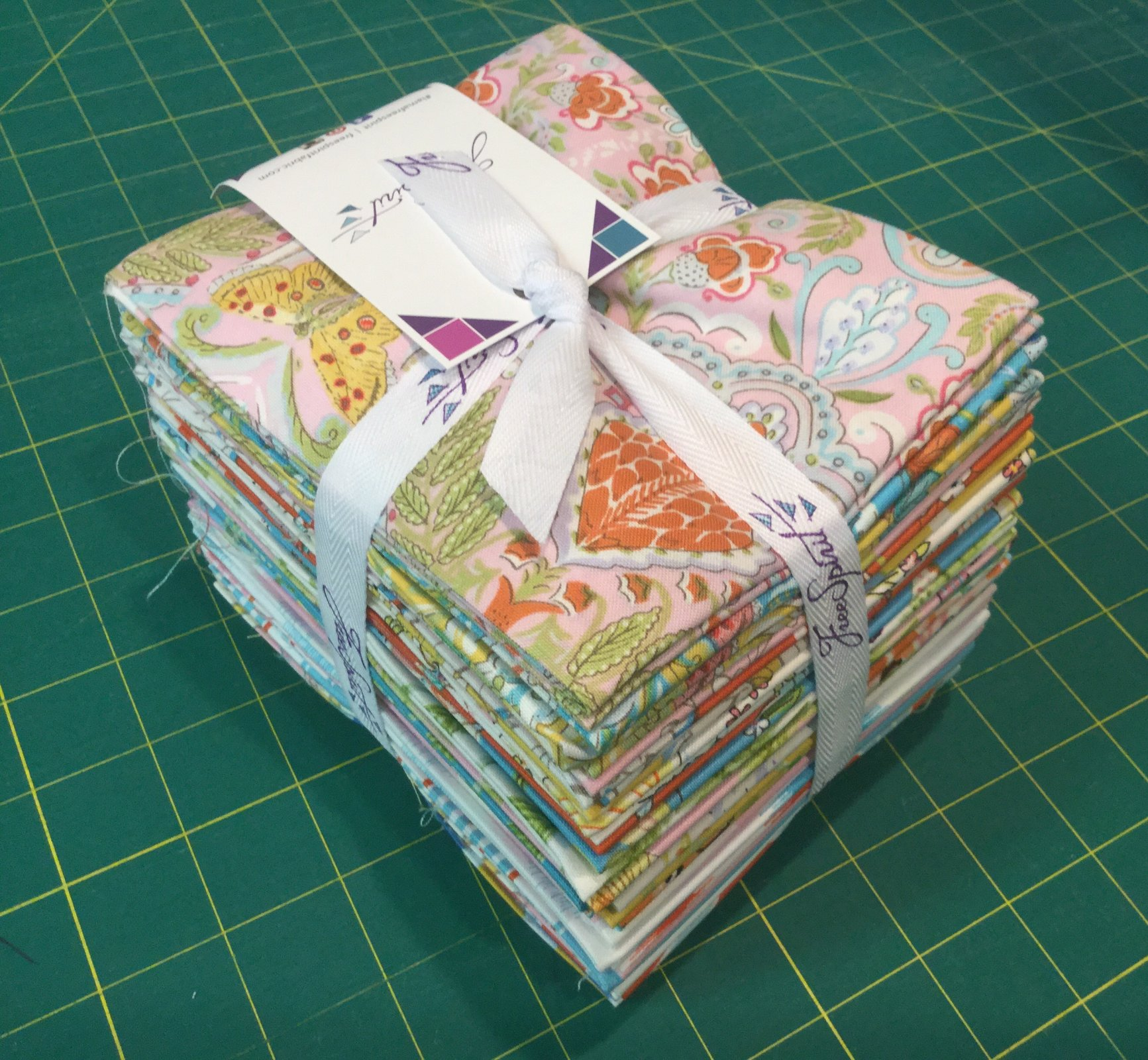 Butterfly Garden Fat Quarter Stack (24 pcs)
