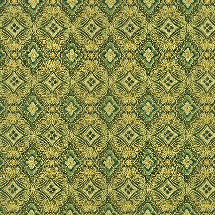 Imperial Collection 15 - Butterfly Tiles - Green