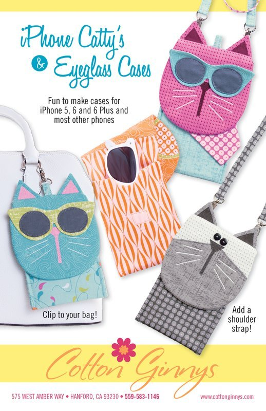 iPhone Catty's Cell Phone & Eyeglass Cases