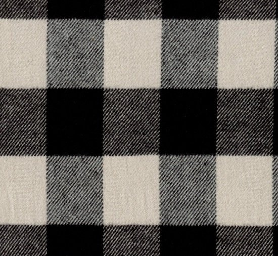 Primo Plaid Flannel - J372 - White (Remnant: 2-1/8 yds)