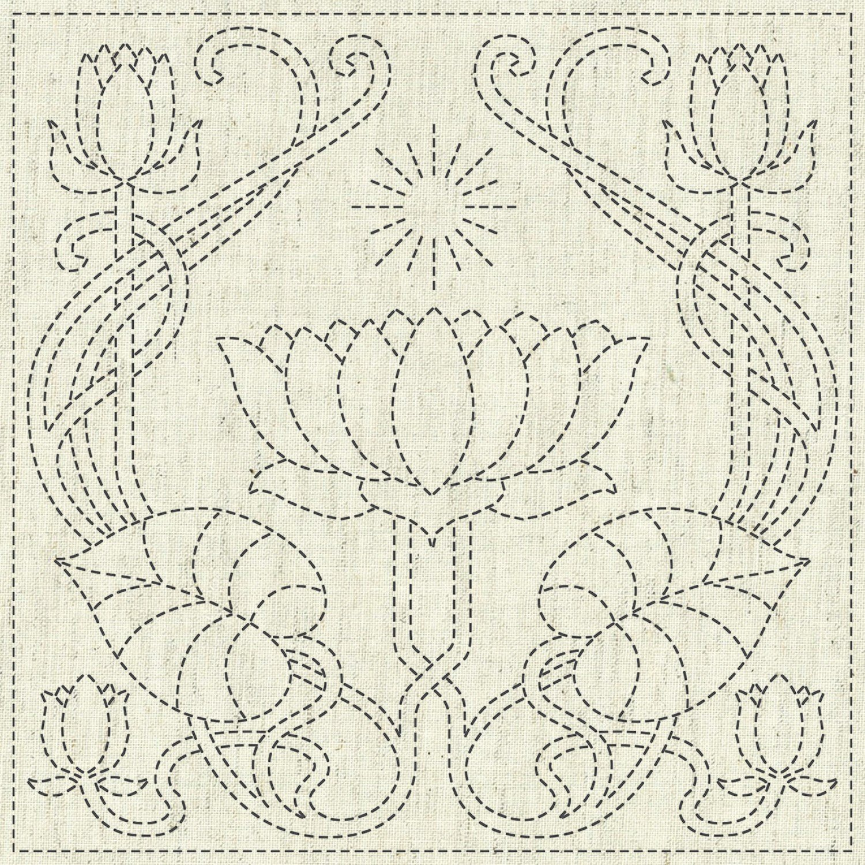 QH Textiles Sashiko Cloth - Serenity