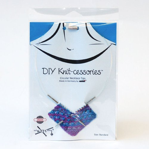 DIY Knit-cessories Circular Necklace Tips - Turbo