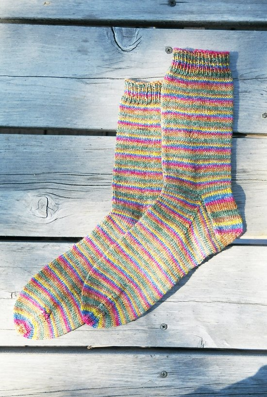Beginner's Lightweight Socks