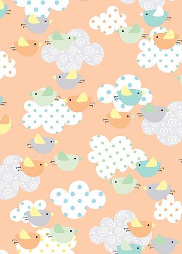 Breezy Baby - Chirp Chirp - Orange