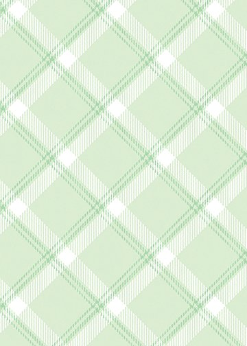 Breezy Baby - Lullaby Plaid - Light Green