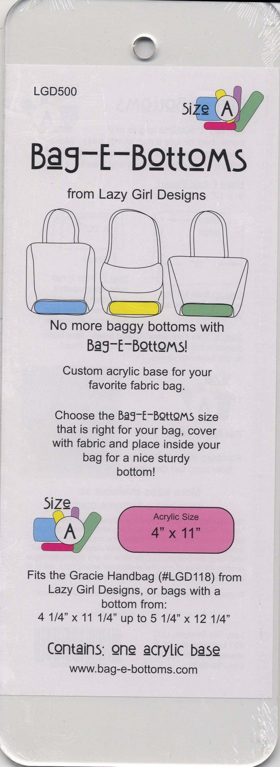 Bag-E-Bottoms Size A (4 x 11)