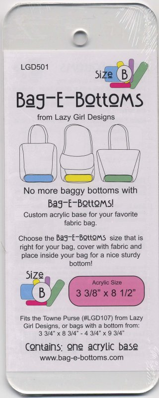 Bag-E-Bottoms Size B (3 3/8 x 8 1/2)