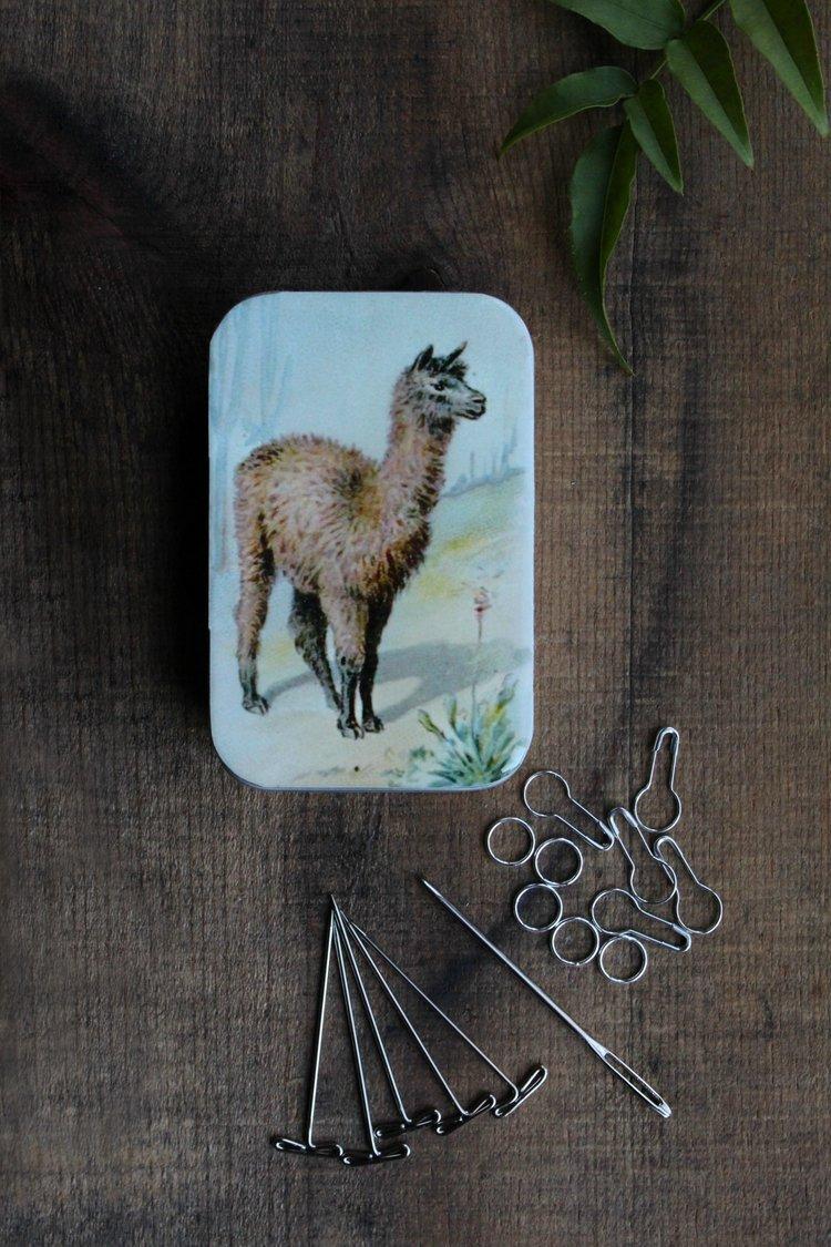 Llama Knit Kit