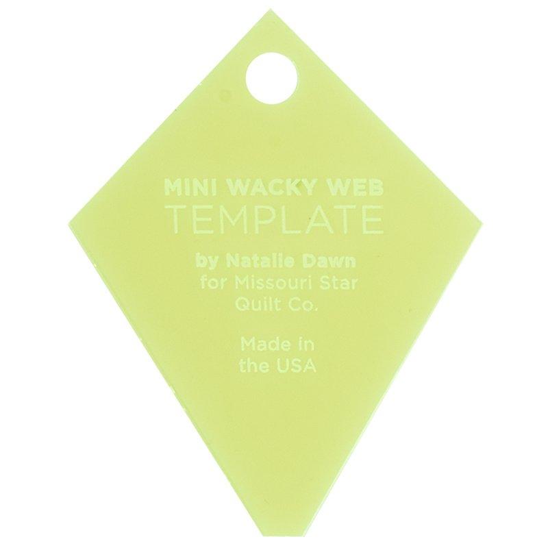 Missouri Star Wacky Web Template - Mini