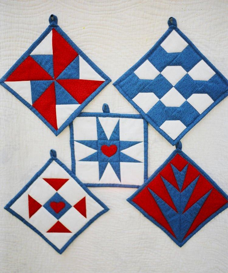 Paper Pieced Quilt Blocks