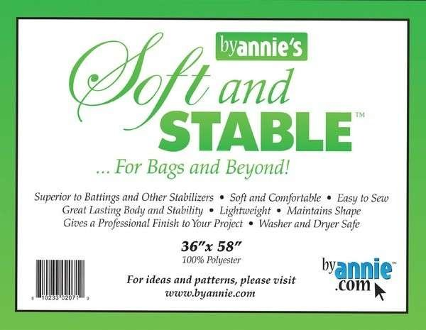 Soft & Stable 100% Polyester Stabilizer - White (36 x 58)