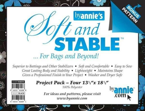 Soft & Stable Project Pack - Black