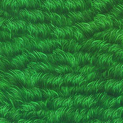 Peacock Elegance - 18820 - Grass (Remnant: 2 yds)