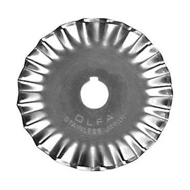 Olfa 45mm Pinking Rotary Blade (1 pk)