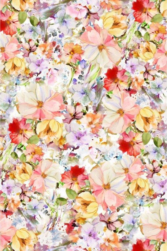 Arabesque Floral Wide - Multi (108 Wide)