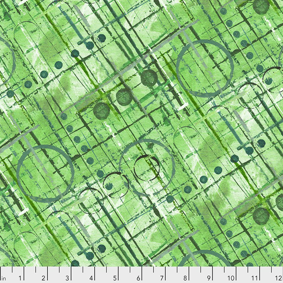 Color Labyrinth - Trellis - Green