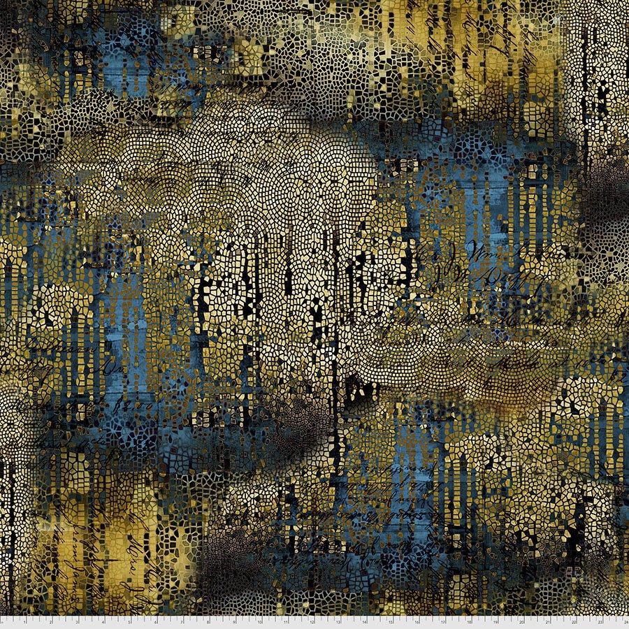 Abandoned 2 - Gilded Mosaic - Gold