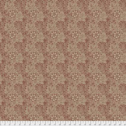Kelmscott - Marigold - Red (Remnant: 2-1/8 yds)