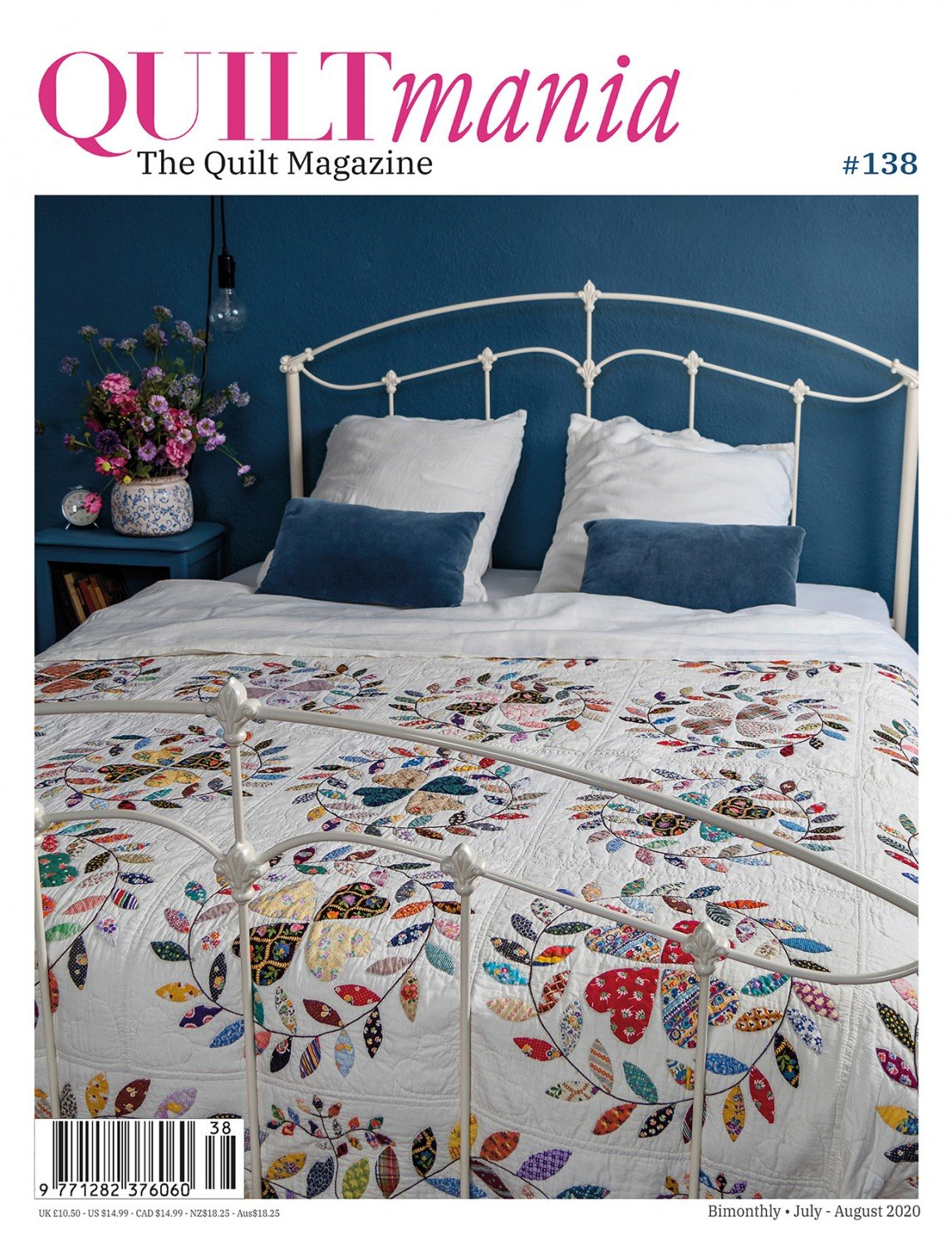 Quiltmania No. 138 The Quilt Magazine (July - August 2020)