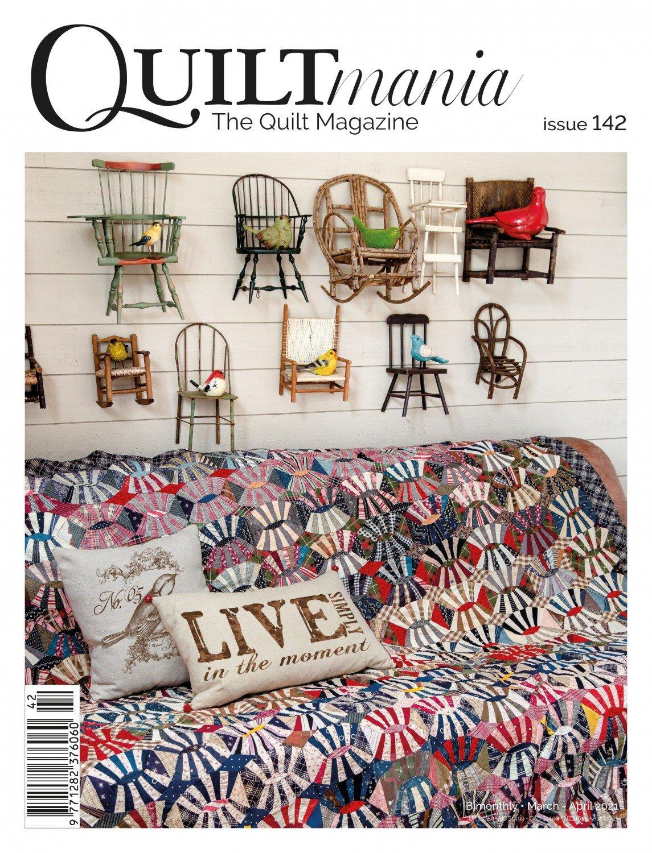 Quiltmania No. 142 The Quilt Magazine (March-April 2021)
