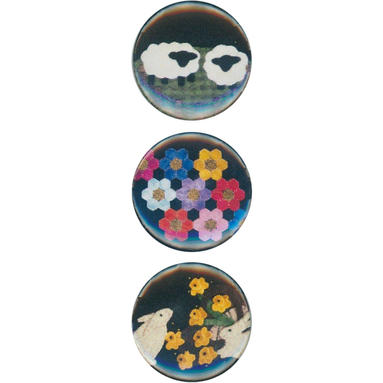 Magnets - Sweet Garden (3 ct)