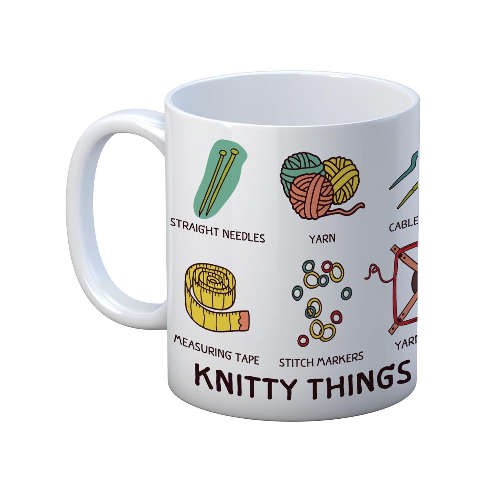 Knitty Things Mug