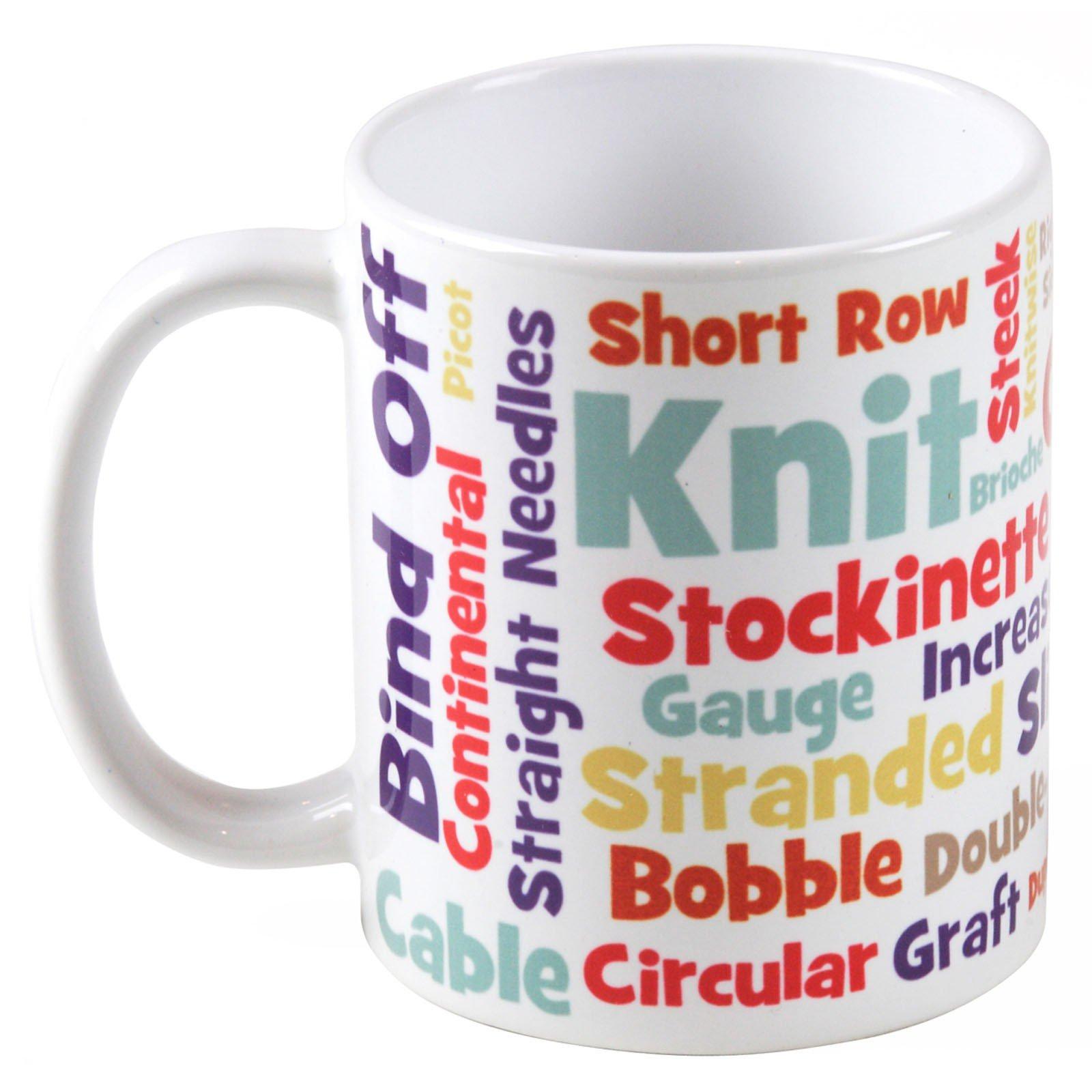 Knit Lovers Lingo Mug