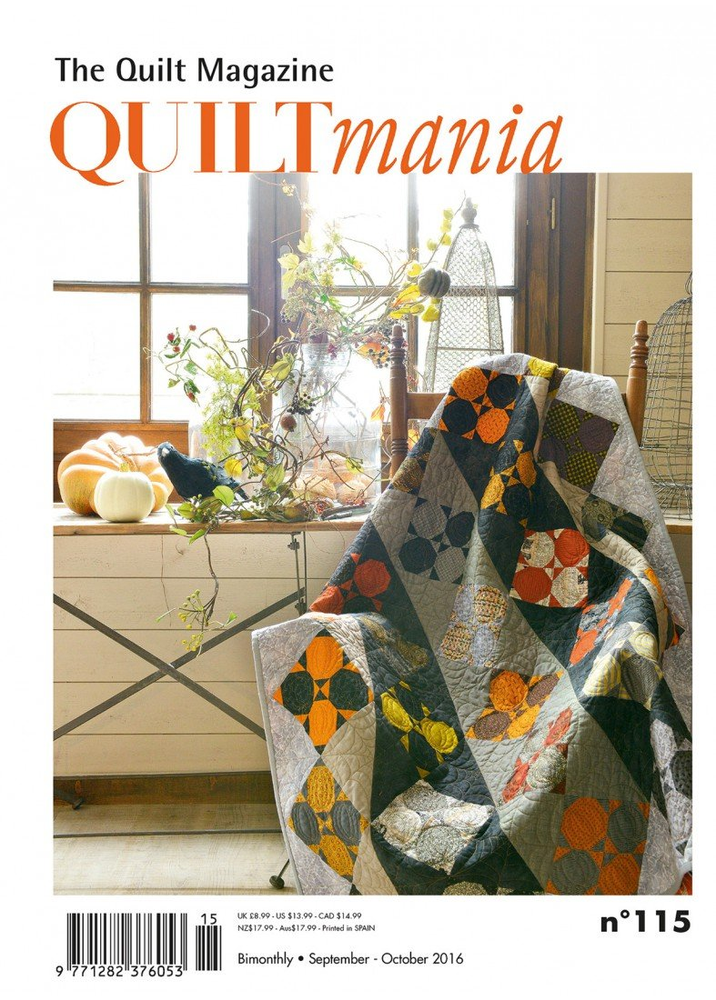 Quiltmania No. 115 The Quilt Magazine (September - October 2016)