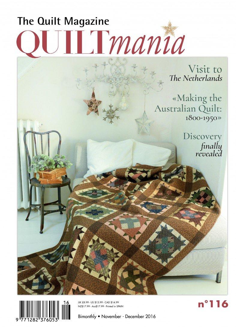 Quiltmania No. 116 The Quilt Magazine (November - December 2016)