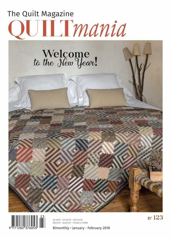Quiltmania No. 123 The Quilt Magazine (January - February 2018)