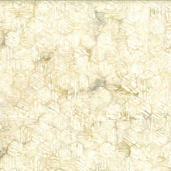 Textured Hexagon - Papyrus