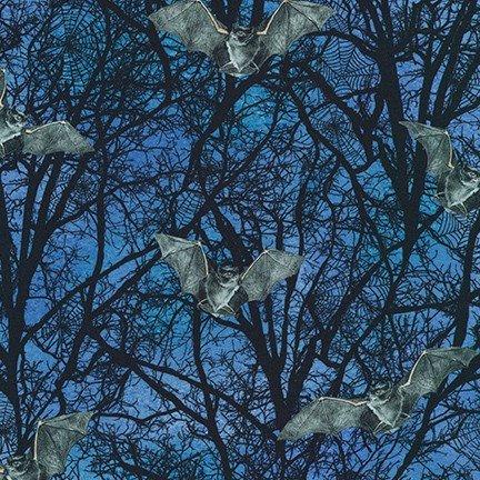 Raven Moon - Bats in Trees - Spooky