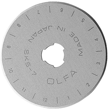 Olfa 45mm Replacement Rotary Blade