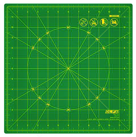 Rotating 12 Self-Healing Rotary Mat