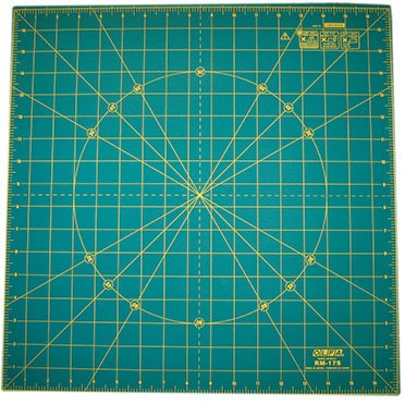 Rotating 17 Self-Healing Rotary Mat