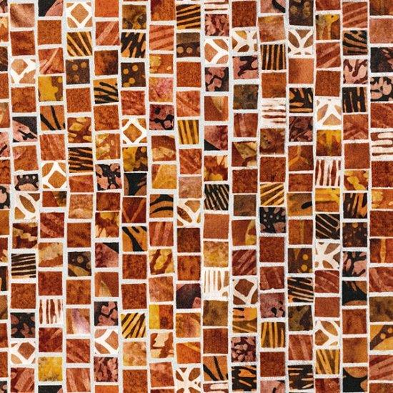 Mosaic Masterpiece - Rust