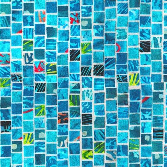 Mosaic Masterpiece - Aqua