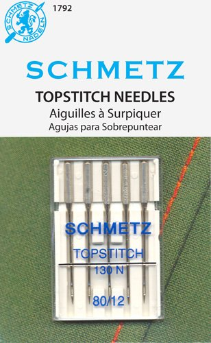 Schmetz Topstich Needles, Size 80/12 - 1792