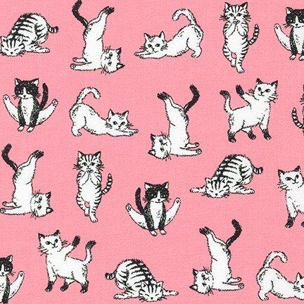 Animal Club - Yoga Kitties - Pink