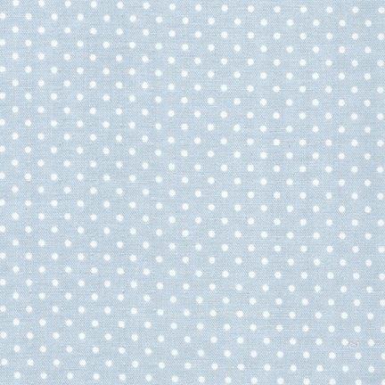 Sevenberry: Baby Basics Double Gauze - Dots - Grey