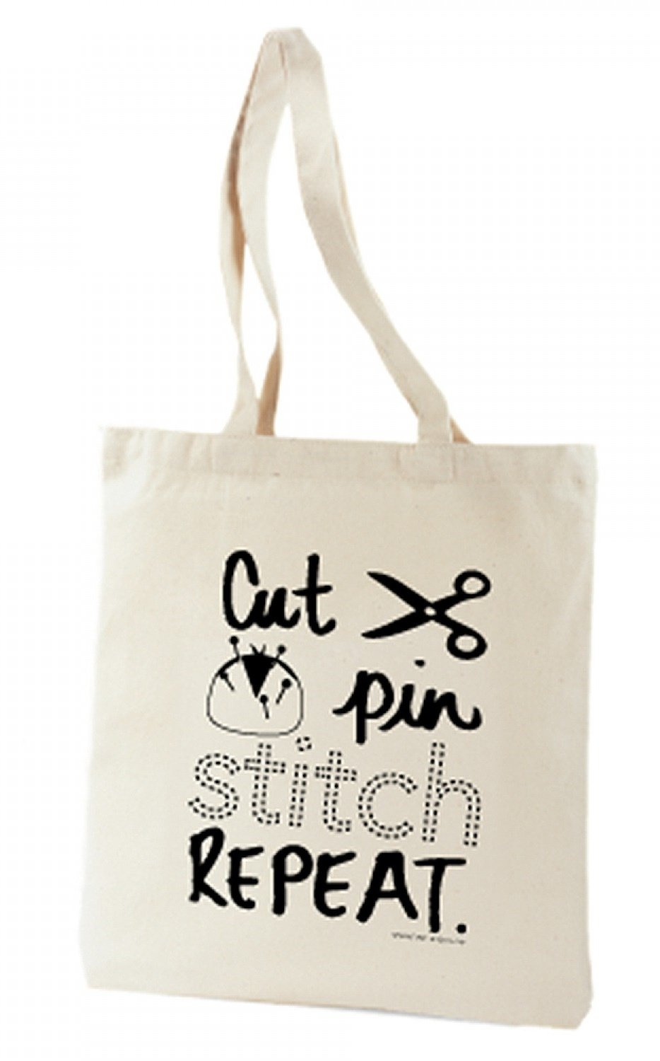 Cut, Pin, Stitch, Repeat Tote