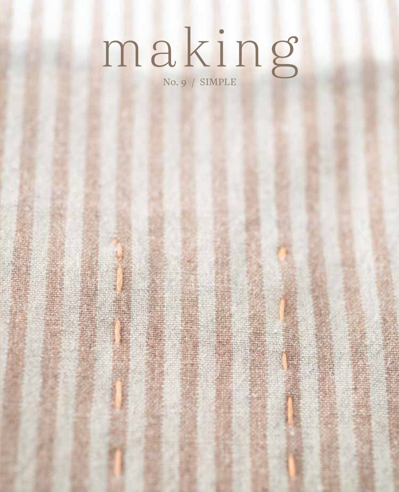 Making No.9 - Simple