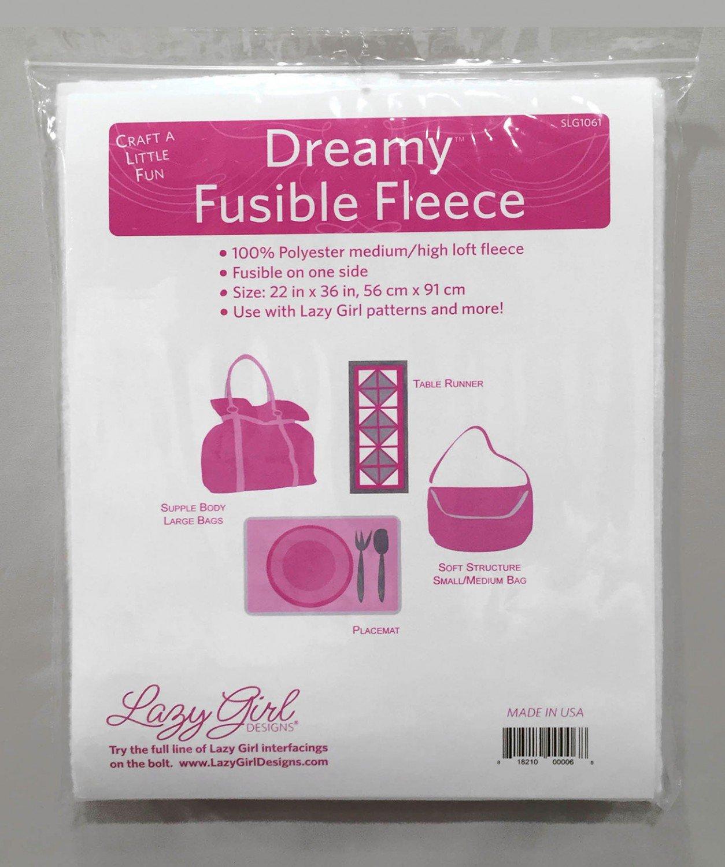 Lazy Girl Dreamy Fusible Fleece Interfacing (22 x 36)