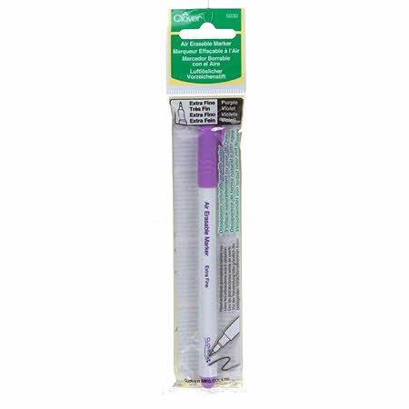 Clover Air Erasable Marker, Extra Fine - Purple