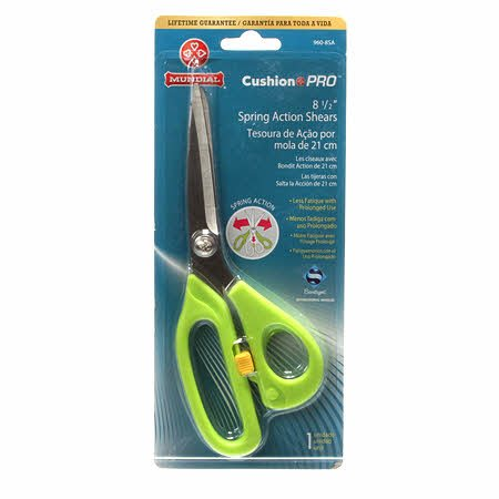 Cushion Pro Spring-Action Shears - 8-1/2