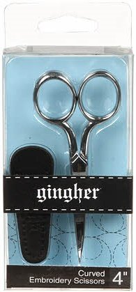 Gingher Curved Embroidery Scissors - 4